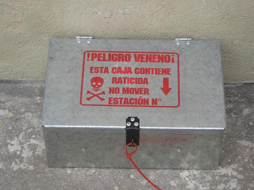 Estaciones de control y monitoreo de roedores fumieco - Cebos para ratones ...